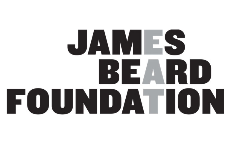 james beard foundation logo partnered with socialtable