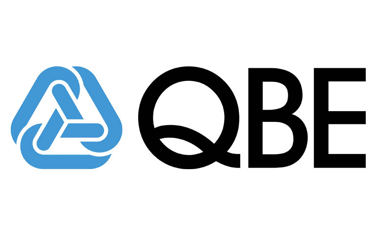 QBE logo partnered with socialtable