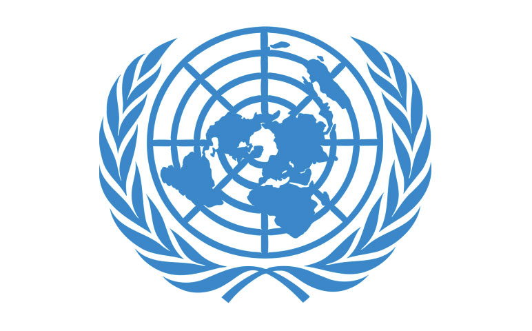 united nations logo partnered with socialtable